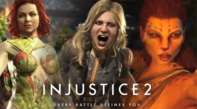 Injustice 2 girls