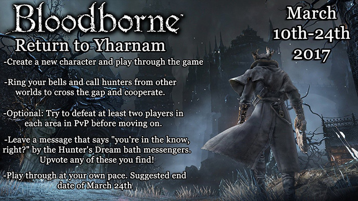 bloodborne return to Yharnam