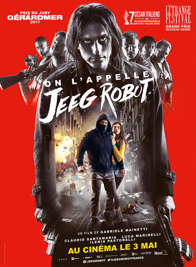 on l'appelle jeeg robot affiche