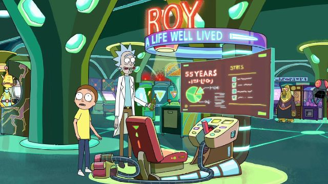 rick et morty garage