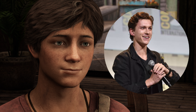 uncharted film Tom Holland nathan drake