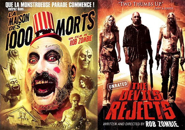 Rob Zombie - la maison des 1000 morts The Devil's Reject