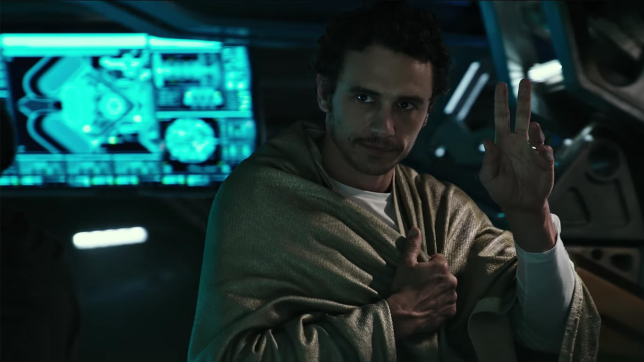 alien covenant james franco
