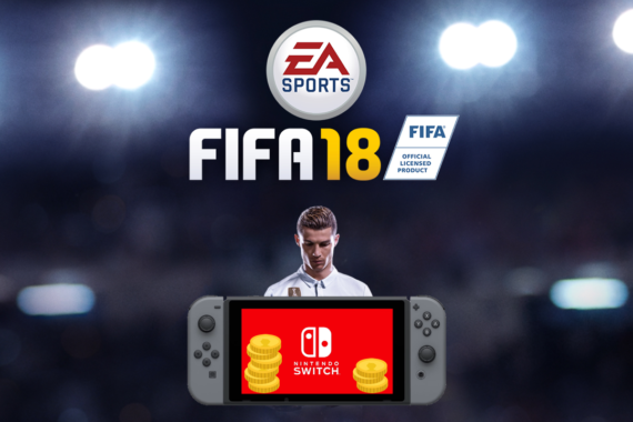 fifa 18 sur Nintendo Switch Crash test