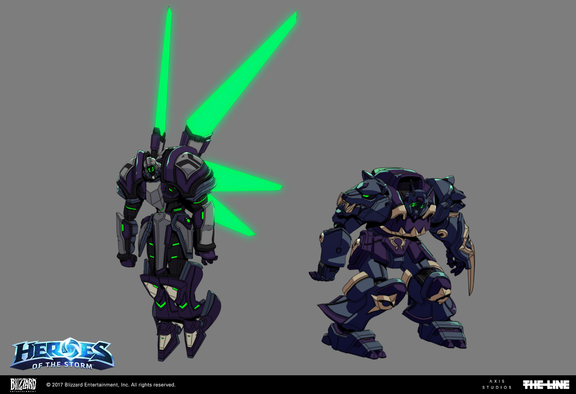 blizzard heroes of the storm mechas