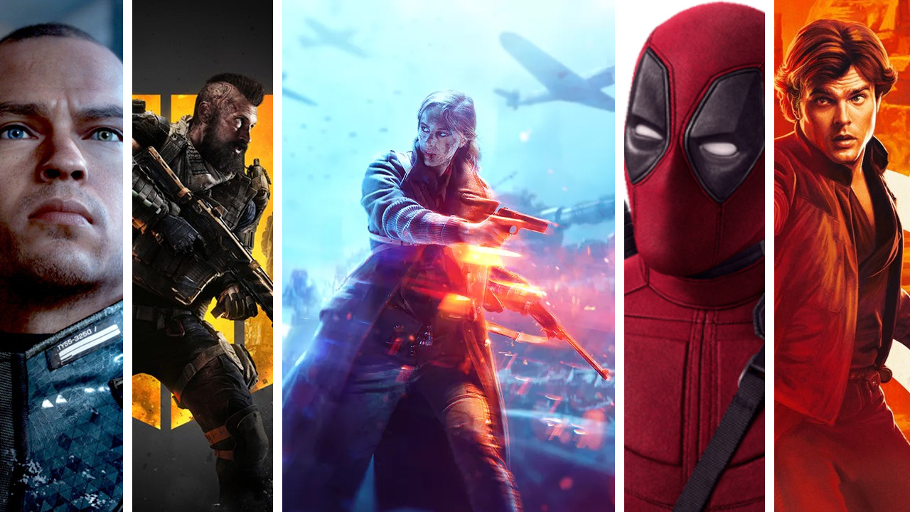podcast PopcornGame - Solo Star Wars Detroit Become Human Battlefield 5 Call of duty Black Ops 4 Deadpool2