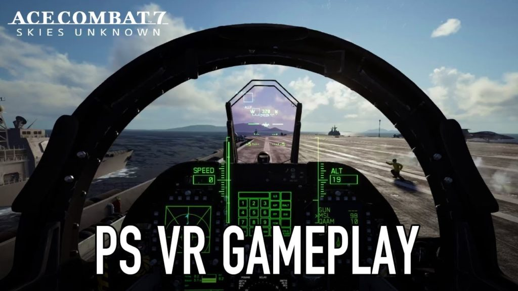 ace combat 7 vr vue gameplay cockpit