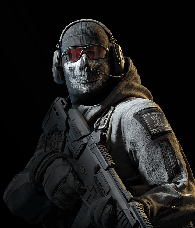 jeux video heros masqués - Call of duty Ghost - GHOST RILEY - 2