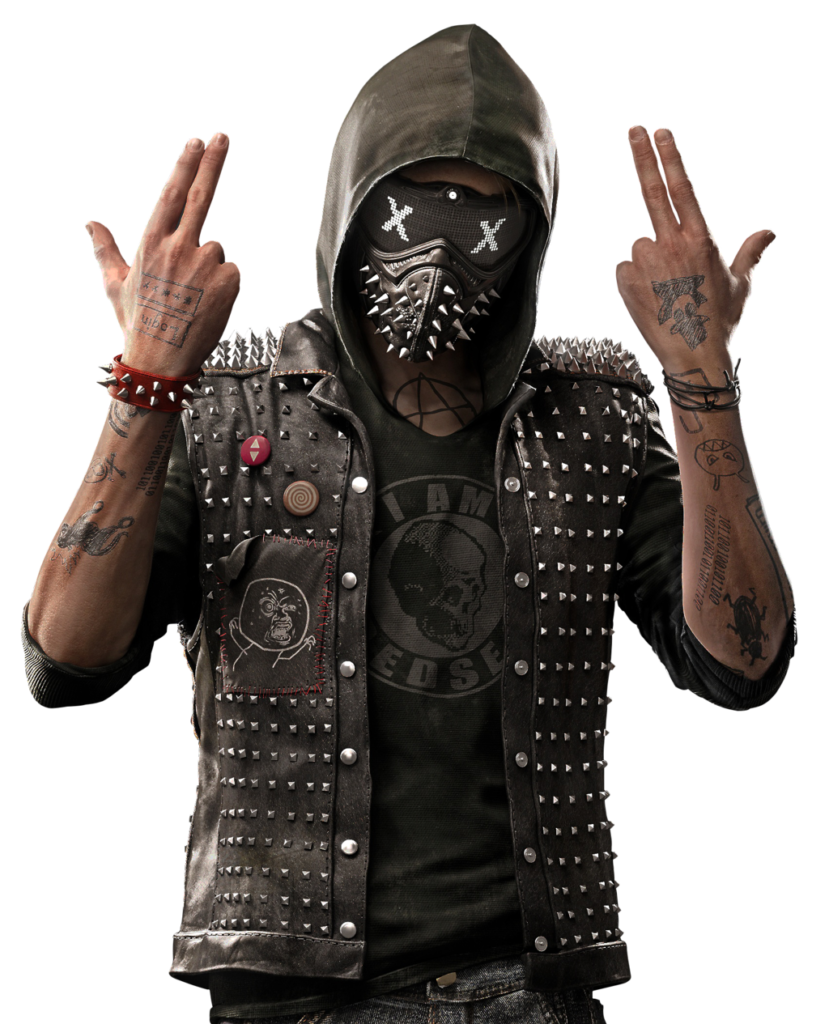 jeux video heros masqués - Watch Dogs 2 - Wrench - 1