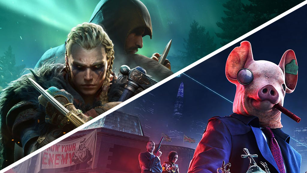 podcast test assassin's creed valhalla & watch dogs legion